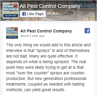 All Pest Control Company on Facebook