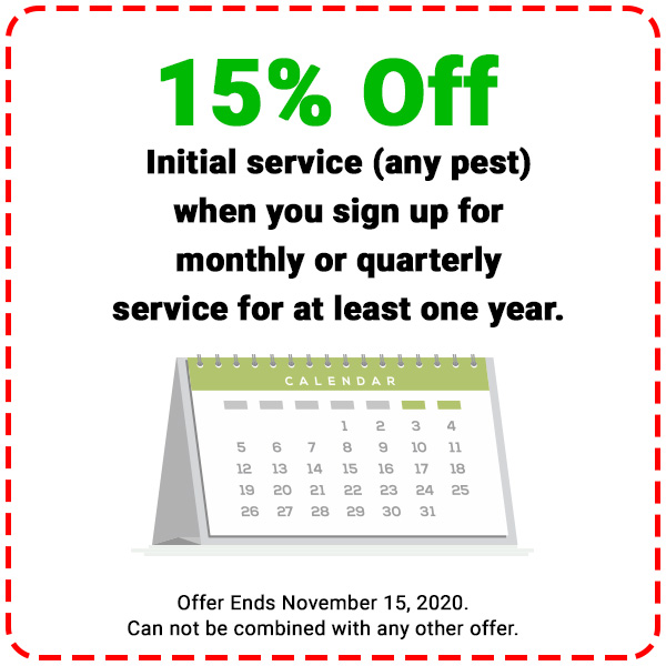 Save $20 Rodent Control Services